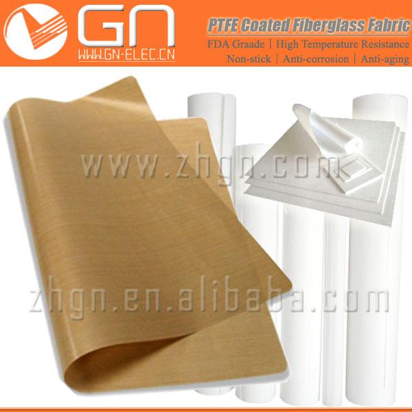Teflon PTFE Coated Fiberglass Cloth, Heat Resistant Fabric