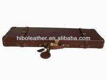 Genuine leather shotgun case