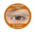 Freshtone impressões lentes de contato hazel