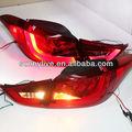 Elantra led tail lâmpada para hyundai 2011-13 bmw ano estilo vermelho e cor branca yzv1