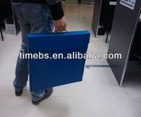 Portable corflute corrugated pp case