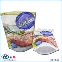 custom printed frozen food packaging bag