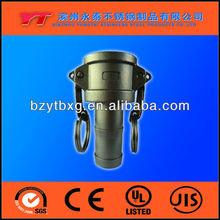 SS flender union quick coupling hose connectors manufacture