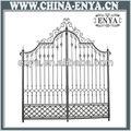 estiloitaliano de entrada do portão de ferro