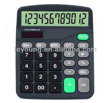 12 Digit Desktop Calculator with solar power