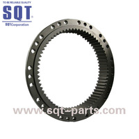 Heavy Equipment Parts SH280 Travel Gear Ring For Excavator Travel Motor