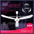 Doble rodamientos de bolas electrónica ventilador de refrigeración 56 pulgadas industrial ventilador de techo con SASO HgF8056-3M ( S )