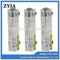 Lzm-z del Panel de acrílico serie tipo de medidor de flujo de Gas