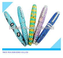 Glinting Diamond Metal Pen For Promotion,Gift Diamond Pen