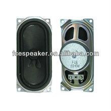 58126 8ohm 10W rectangular subwoofer speaker for TV