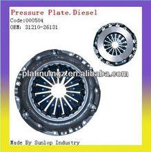 toyota hiace clutch parts #000504 hiace clutch pressure plate clutch disc for toyota hiace 2kd 31210-26131