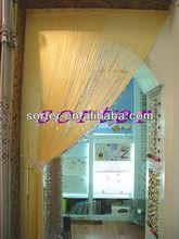 Yellow String Curtain