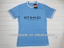 Manchester city home 2013 2014 Player version soccer jersey thailand quality