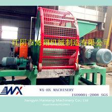 Gomma del pneumatico attrezzature di riciclaggio/pneumatici usati attrezzature