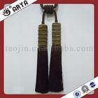 double tassels tie back curtain tassel