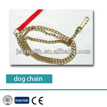 high polished made in china steel and stainless steel dog chain