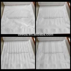 100% cotton 240TC 1m sateen stripe bedding fabric