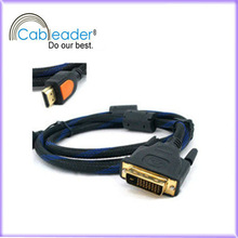 6ft HDMI to DVI 18+1 Cable 1.4 1080p HDTV LED TV PC Monitor