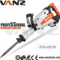 vente chaude marteau de démolition des outils électriques marteaux marteau piqueur 30mm 1500w hex shank