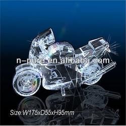 Shining Crystal Motorcycle Model