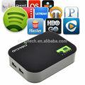 Fábrica de fornecer diretamente android 4.0internet tv set-topbox/smart tv box com o skype online