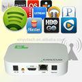 Fábrica de fornecer diretamente dainternet tv box android tv 4 set-topbox/smart tv box com o skype online