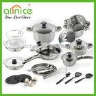 29PCS Multi-purpose SUS410# Stainless Steel set/kitchen tools/utensils/pots/kitchen cookware