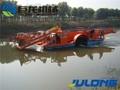 Completamente automático acuático malezas cosechadora