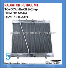 toyota parts#000444 toyota hiace radiator petrol MT radiator for hiace 16400-30160