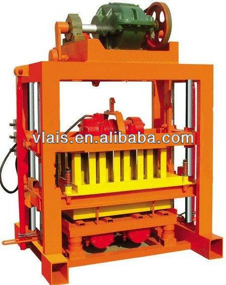 QTJ4-40B Concrete Block Forming Machine, brick manufacturing machine