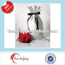 Popular non woven small drawstring bags wholesale