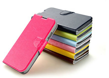 newest design colorful stand function decent flip leather case for samsung s4 sleeping mode cell mobile phone case