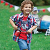 kids fashion clothes 2013 sport t shirt+pant baby boy 3 pieces clothes for children
