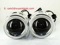 2.5 inch bi-xenon hid headlight projector lens light car projector for H1 H4 H7 hid xenon bulbs