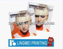 Hair Product Catalog Printing in China