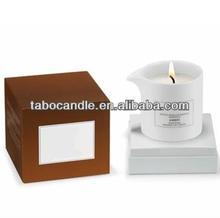 fancy fashion ceramic jar massage candle