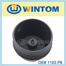 peugeot car parts oil cap for oil cooler 1103.P8