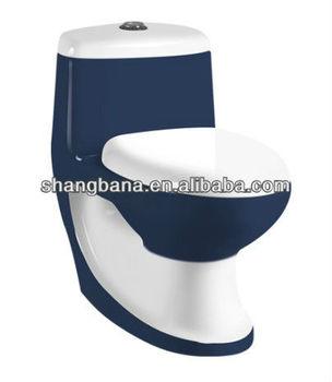 Ceramic Bathroom Dark Blue Color Toilet In Best Design A1028 Buy Color Toil