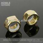 DIN985 colorful zinc carbon steel nylon insert lock nut