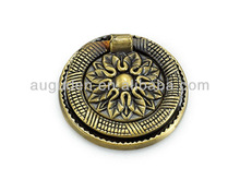 Zinc alloy antique brass furniture hardware, drawer knobs