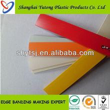 High Gloss pvc edge banding strip For Kitchen Cabinet Door