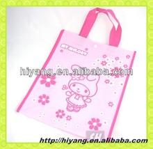 Alibaba china plastic bag recycle tote shopping bag with logo printing