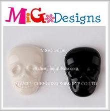 Direct Factory Manufacture Wholesale Decor Gift Skull Design Ceramic Fridge Magnet Wholesale