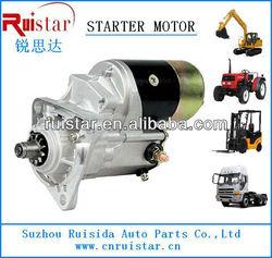Isuzu starter motor 1-81100-141-0 5-81100-118-0 8-81100-253-1
