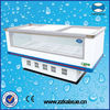 Double use --- cooling and freezing refrigerated cabinet
