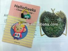 Cheap soft pvc earphone jack Dust Plug for gifts