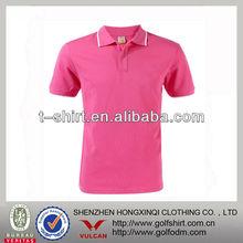 Blank polyamide ladies short sleeve polo shirt