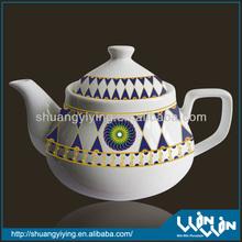 ceramic tea pot in color design WWTP13031