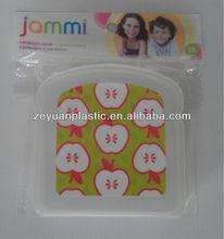 Hot Sales Children Use Plastic Sandwich Box