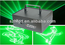 2W Green laser Animation/Cartoon Laser Stage Light